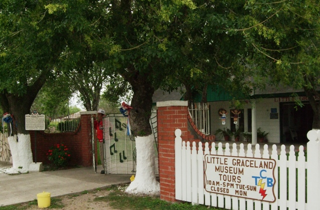 Little Graceland Museum in Los Fresnos, Texas