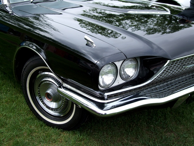 Classic Black Car Headlight by Sheree Zielke