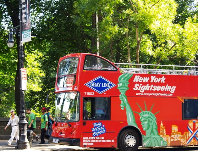 New York City Double-Decker  Bus Tours by sheree Zielke
