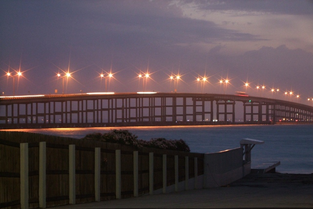 Queen Isabella Causeway Texas Morning by Sheree Zielke