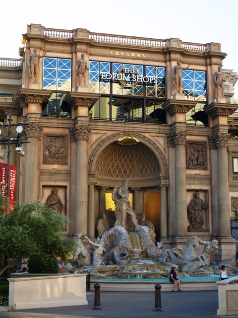 Forum Shops in Vegas by Sheree Zielke