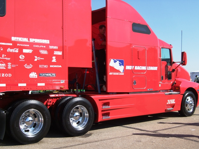 IndyCar Big Rig Truck by Sheree Zielke