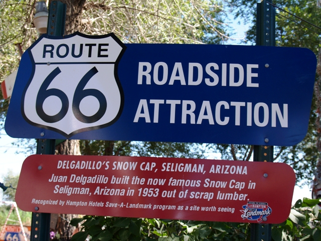 Roadside Attraction Sign by Sheree Zielke