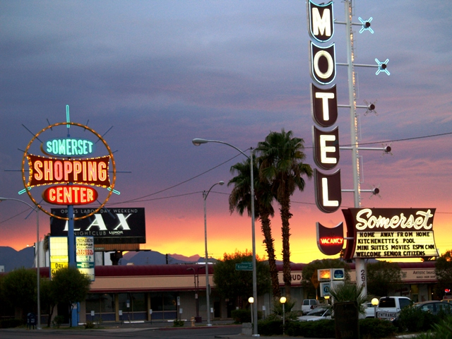 Motel Sign in Las Vegas, Nevada by Sheree Zielke