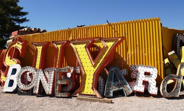 Neon Museum Boneyard Letters by Sheree Zielke