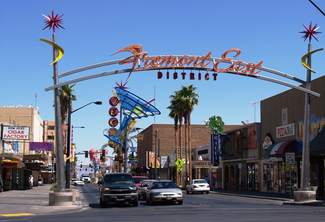 Fremont East View by Sheree Zielke