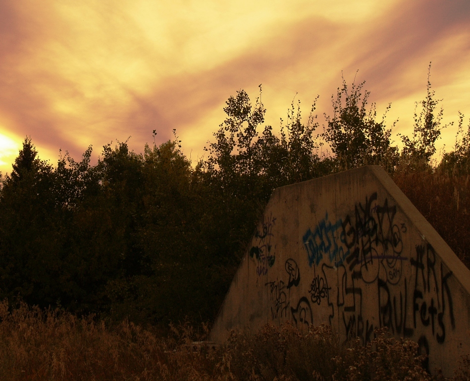 Sundown Graffiti by Sheree Zielke