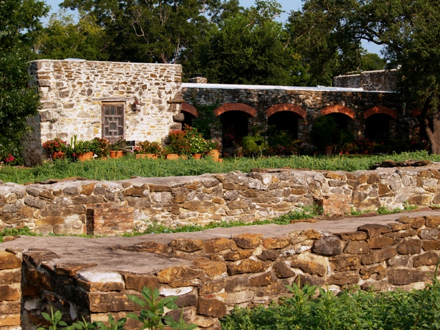 Mission Espada Franciscan Monks' Abode by Sheree Zielke