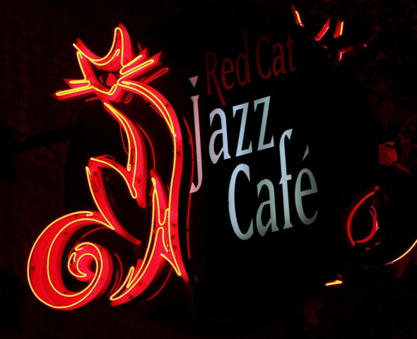 Red Cat Jazz Cafe by Sheree Zielke