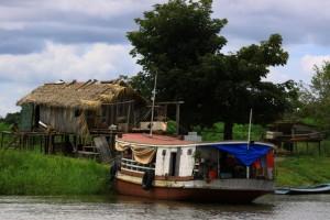 Amazonian home near Santarem, Brazil